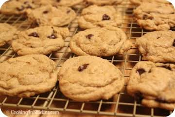 Rum Soaked Chocolate Chip Cookies