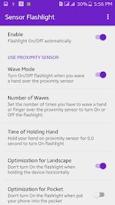 Sensor Flashlight: Shake or Wave Hands to Turn ON 1.6