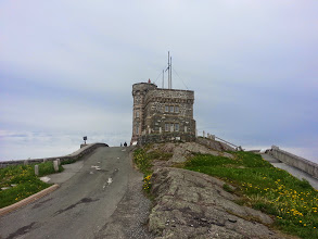 Photo: Signal Hill overlooking St John's Newfoundland.