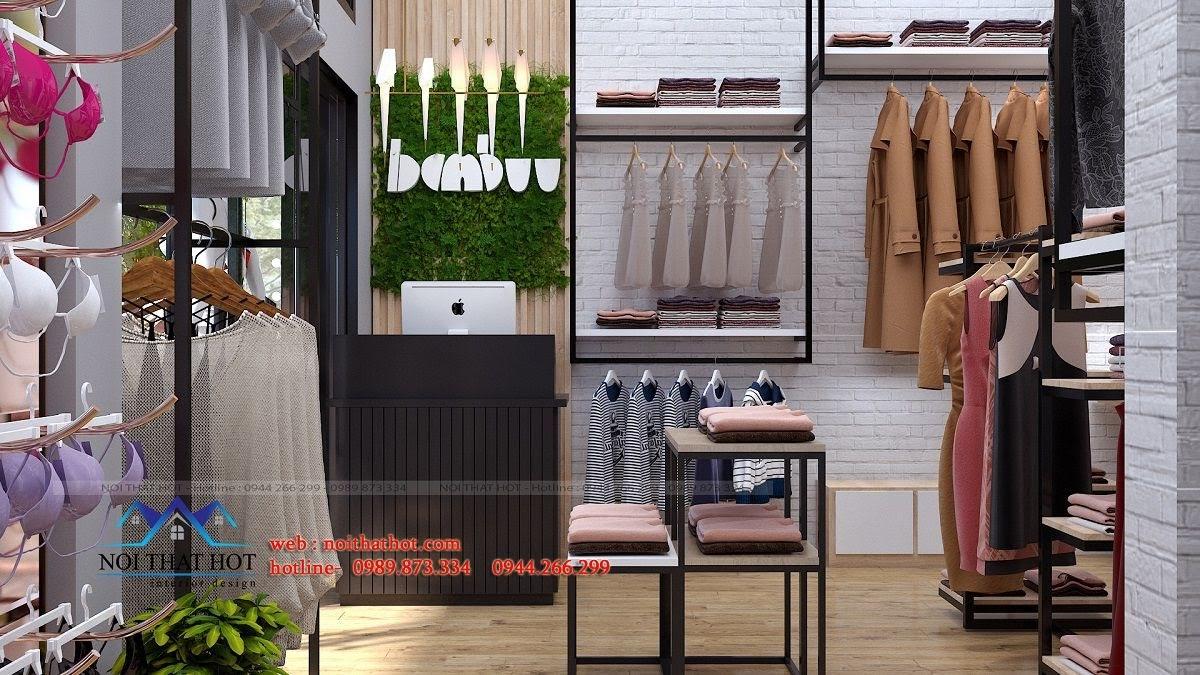 thiết kế shop thời trang nữ 6