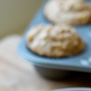 Whole-Wheat Apple Ginger Muffins.