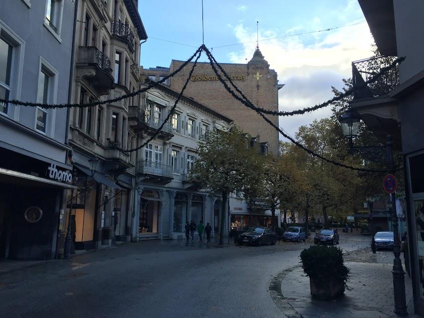Баден-Баден в ноябре, Германия