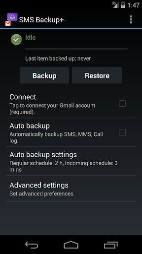 SMS and WhatsApp Backup