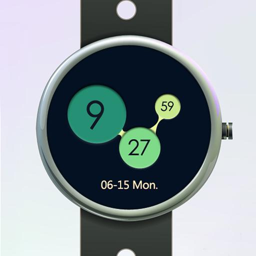 Colorful Circle Watch Face