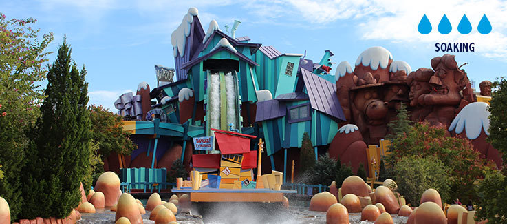 Dudley Do-Right's Ripsaw Falls at Universal