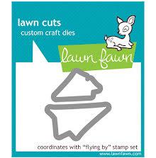 Lawn Fawn Custom Craft Die - Flying By