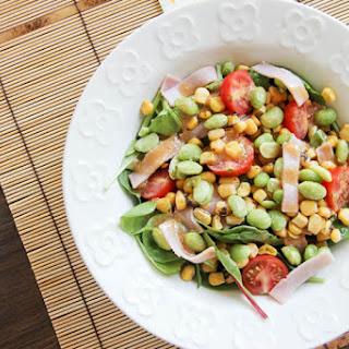 Roasted Corn Miso Salad