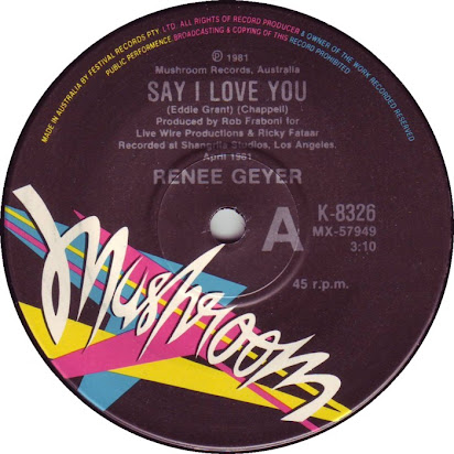 Renee geyer say i love you free mp3 download