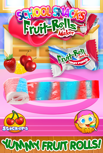 Fruit Roll Candy Maker - School Snacks Sim FREE 1.0 screenshots 8