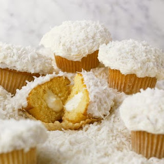 Filled Coconut Cakes