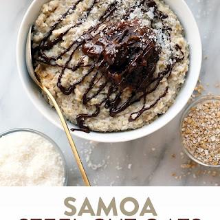 Crock-Pot Samoa Steel Cut Oatmeal.