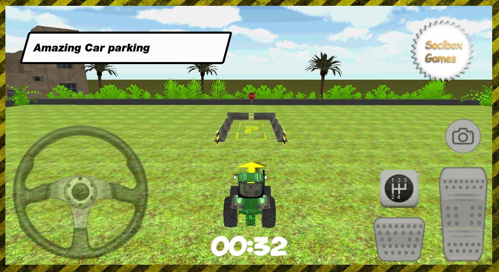3D-Tractor-Car-Parking 20