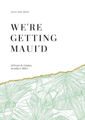 Alison & Timmy's Wedding - Wedding Invitation template