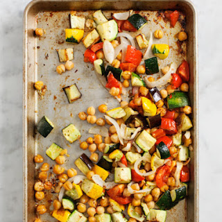 Roasted Chickpea Ratatouille.