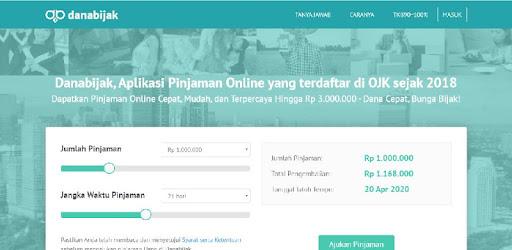 Danabijak Aplikasi Pinjaman Online Indonesia Aplikasi Di