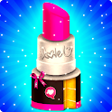Makeup Kit Cakes - Cosmetic Box Cake Cooking icon