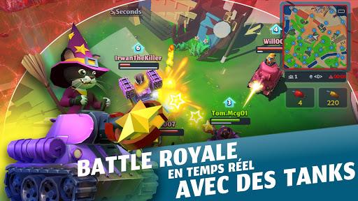 PvPets: Tank Battle Royale captures d'u00e9cran 1