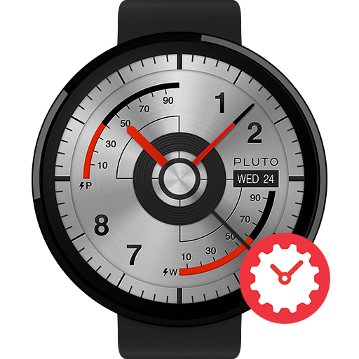 Technika watchface by Pluto
