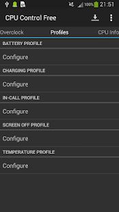 CPU Control Free - screenshot thumbnail