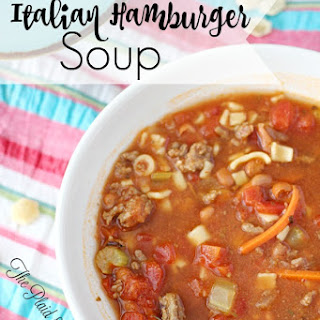 Italian Hamburger Soup