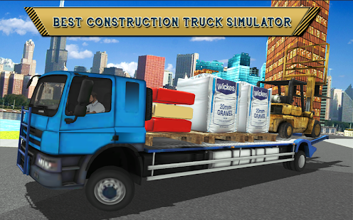 Construction Simulator: City Truck parking game 3d - náhled