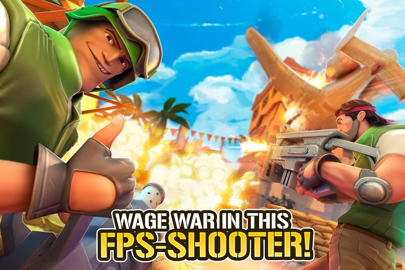 Screenshots of Respawnables - FPS Special Forces for iPhone
