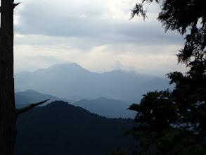 左から鹿島山・大鈴山・明神山など