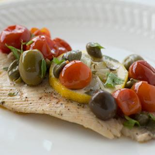 Mediterranean Roasted Fish