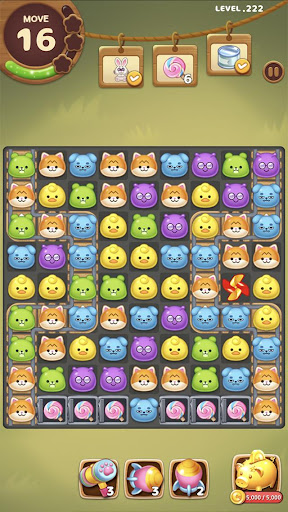 Candy Friends Forest : Match 3 Puzzle 1.1.4 screenshots 8