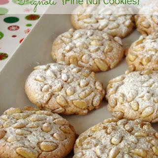 Pignoli (Pine Nut Cookies)