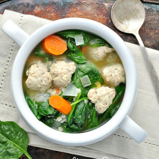 Italian Wedding Soup Spinach Recipes.