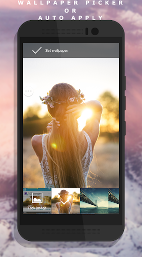 Auto Wallpaper Changer (CLARO Pro) app for Android screenshot