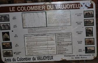 Photo: BRETANYA 2013. PLANGUENOUAL. Colombier de Vaujoyeux, segle XV.