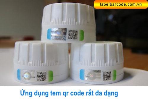 tem nhãn qr code dán sản phẩm