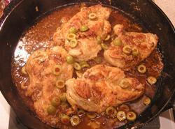 Olive Martini Chicken Recipe