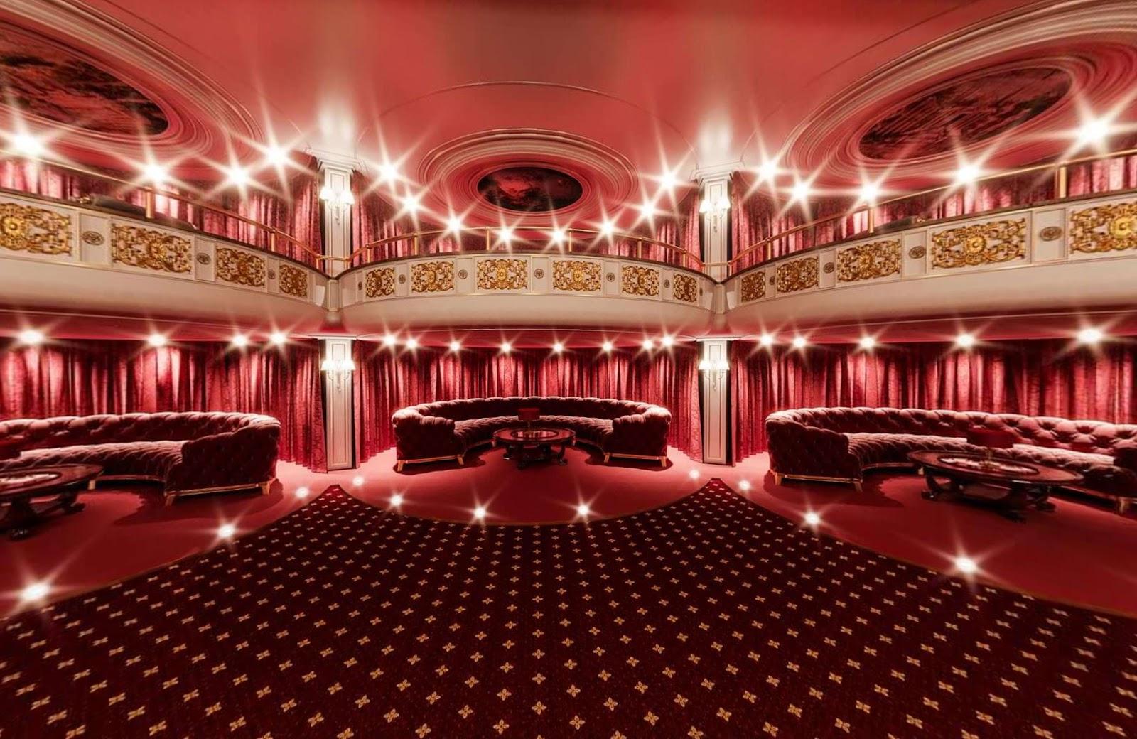 Домашний кинотеатр Путина - зал