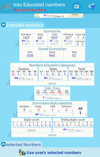 loto educated numbers - náhled