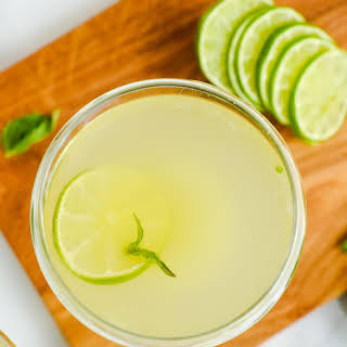 Basil Ginger Cocktail Recipes.