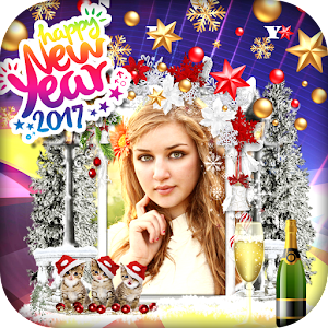 Happy New Year Photo Frame apk
