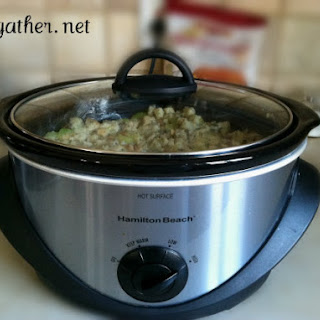 Savory Crock Pot Stuffing