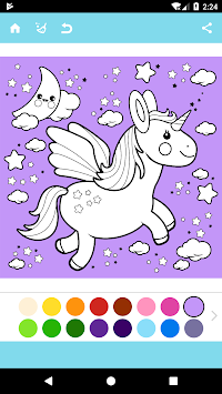 Unicorn Coloring Book APK screenshot thumbnail 5