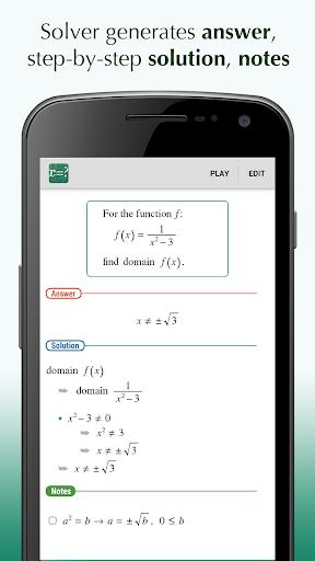FX Alge Problem Solver App - Free Offline Download ... Mathway Domain on