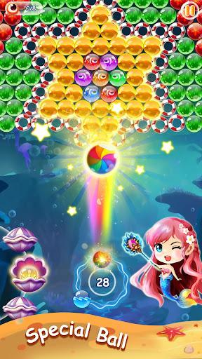 Mermaid Bubble Shooter Ball Pop: Fun Game For Free 1.5 screenshots 1