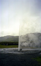 Photo: gejzír v Kouřovém údolí