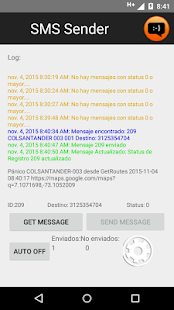 SMS Sender- screenshot thumbnail
