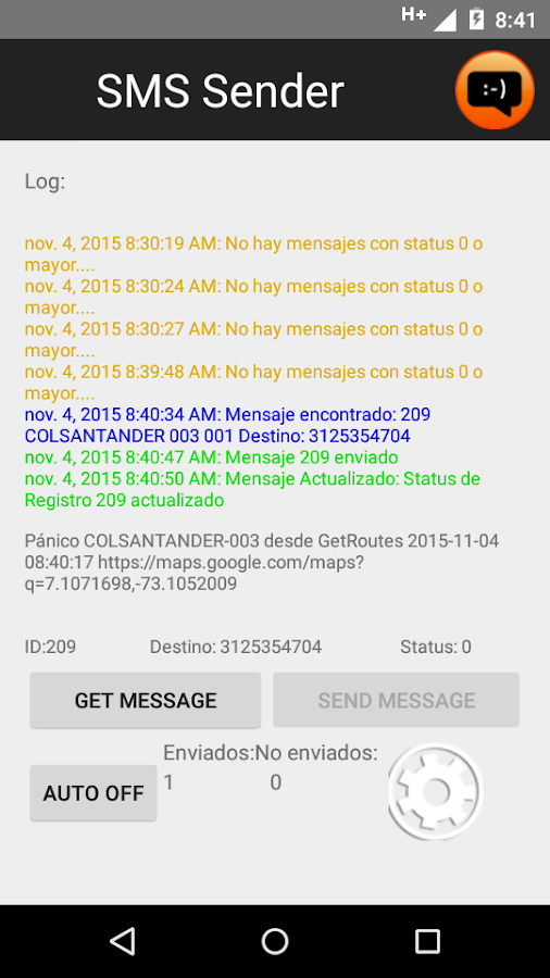 SMS Sender- screenshot