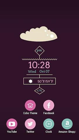 android Sugar Brownie Theme Screenshot 0