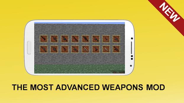 Gun Mod For MCPE