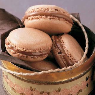 Nutella Macaroons.