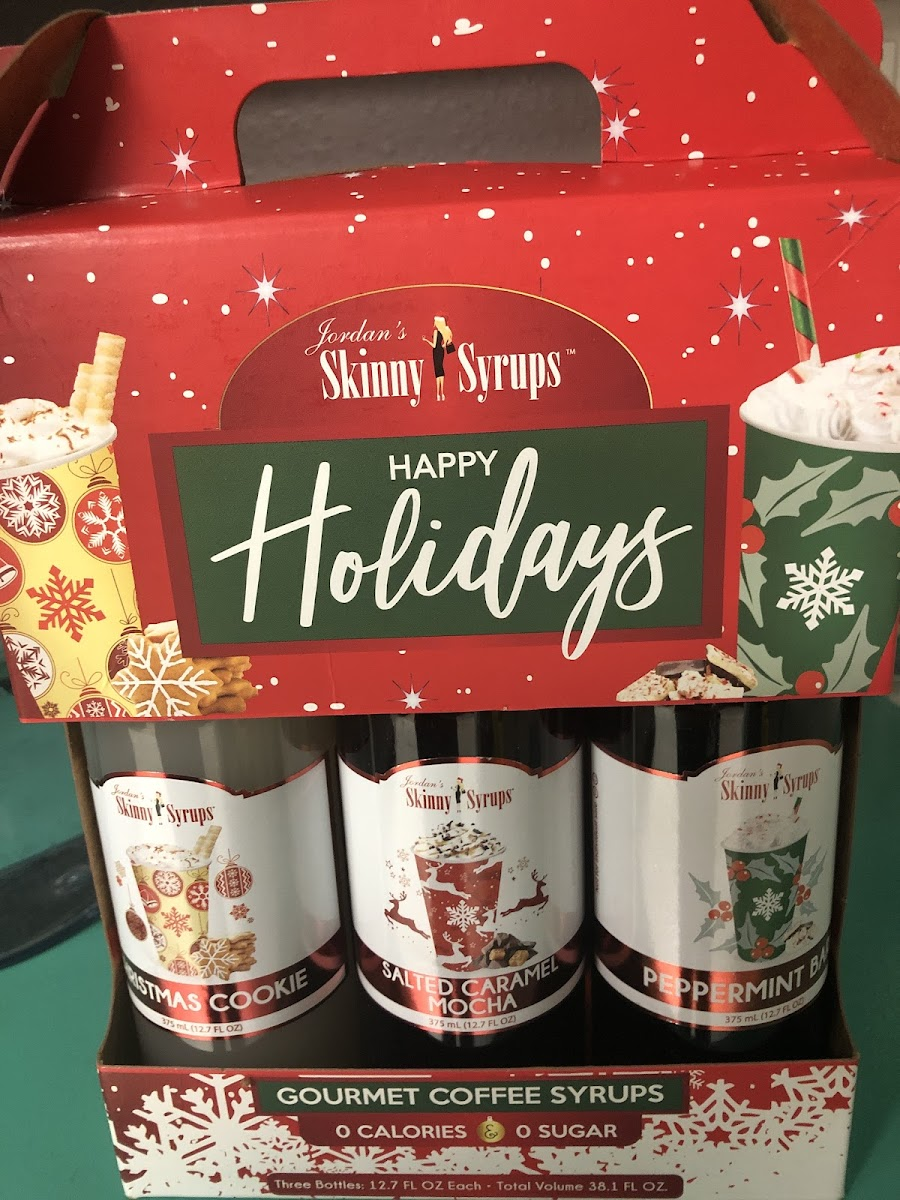 Happy Holidays Gourmet Coffee Syrup